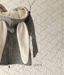 Grey Bunny Jacket