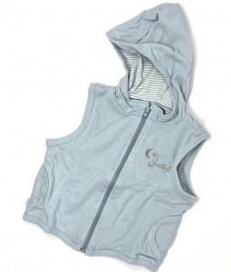 Organic Baby Blue Vest