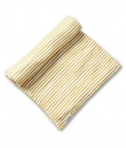 Stripes Away Swaddle - Marigold