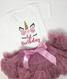 Unicorn Birthday Set