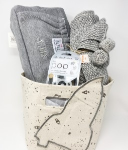 Gift Basket - Newborn Grey Edition