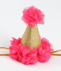 Birthday Crown - Bright Pink