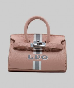 Tribeca Blush Leather Bag
