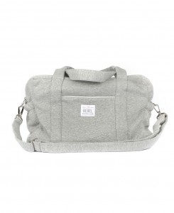 JERSEY CHANGING BAG - 24H HEATHER GRAY