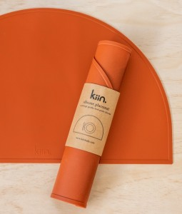 Silicone placemat - Rust