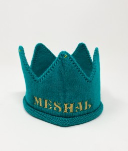 Aqua Cotton Crown