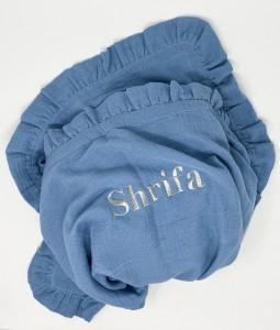 Organic Muslin Blanket - Blue