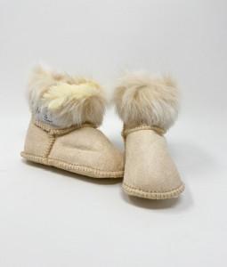 Fur Boots - Cream