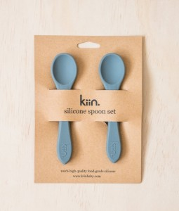 Silicone spoon twin pack - Cloud