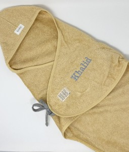 Wrap towel Dijon organic - Sahara