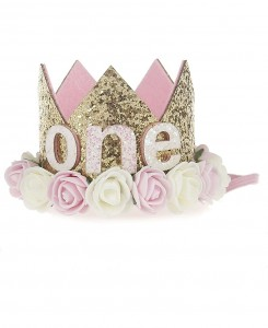 ONE Birthday Crown