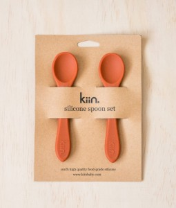 Silicone spoon twin pack - Rust