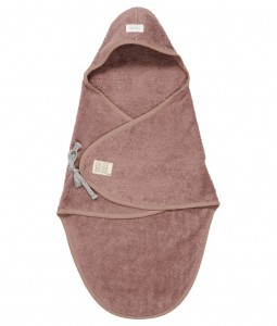 Wrap towel Dijon organic - Plum