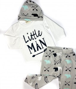 Little Man 3pc Set