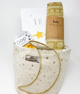 Crescent Gift Basket2 - Marigold