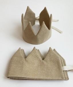 Sand Linen Crown