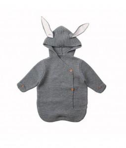 Grey Bunny Wrap