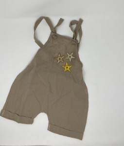 Brown Star Jumpsuit