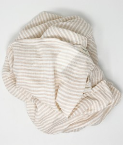 Striped Swaddle - Pink