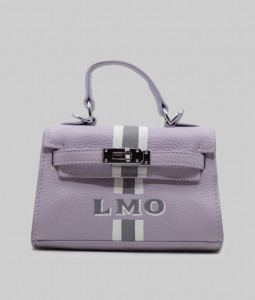 Mayfair Purple Leather Bag