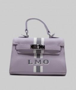 Mayfair Purple Leather Bag