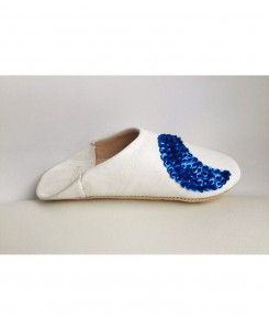 White Moon Slipper