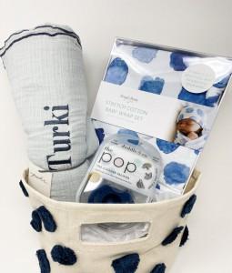 Newborn Navy Edition Gift Basket
