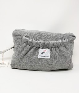 TOILETRY BAG - JERSEY GREY