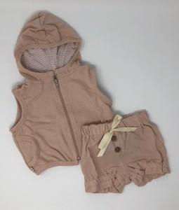 Pink Vest & Shorts