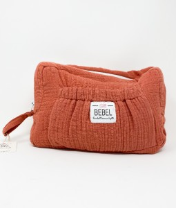 Toiletry Bag - BRICK