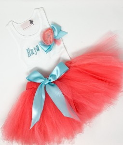 Ribbon Tutu Set