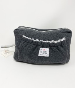 TOILETRY BAG - DARK GREY