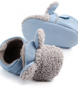 Blue/Grey Bunny Shoes