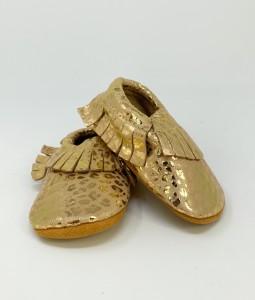 Gold Leopard Moccs