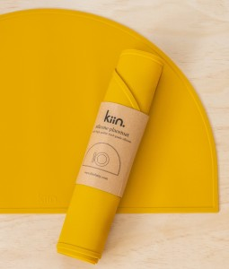 Silicone placemat - Mustard