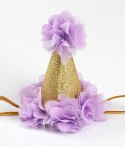 Birthday Crown - Purple