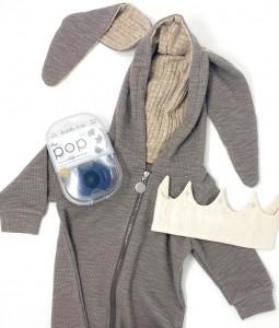 Grey Bunny Gift Box Set