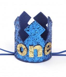 1st Birthday Crown - Blue