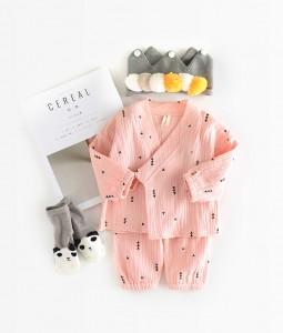 Pink Kimono Set